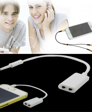 Universal Couple Headphone Jack 1 to 2 gd121