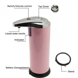 AUTOMATIC SENSOR SOAP DISPENSER  gd42
