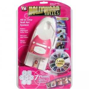 "all in one nail art system ""hollywood nights"" ht41"