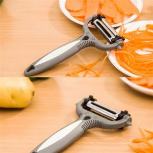 Multifunctional Rotating Fruits And Vegetables Paring Knife kt35