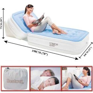 Bestway Air Bed With Adjustable Backrest  AF-05