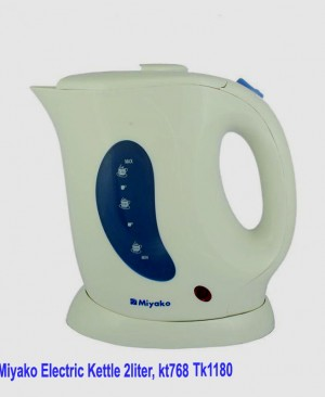 Miyako electric kettle 1.2 Liter