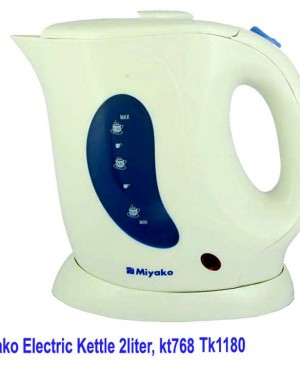 Miyako Electric Kettle 2 liter,  kt768