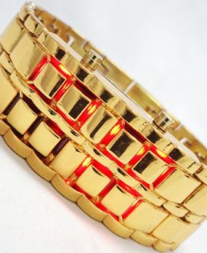 l1._new-bracelet-samurai-faceless-red-led-digital-metal-gold-wrist-watch-men