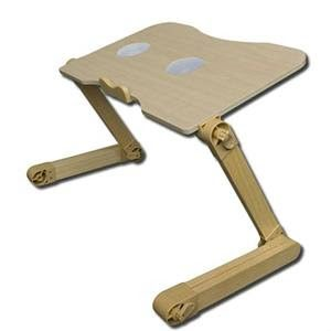 Portable Laptop Table/Computer Table Design With Cooling Fans gd1015