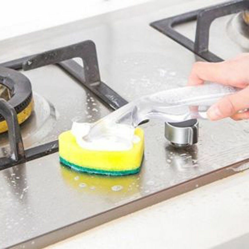 Hot-Sale-Usuful-Dish-Washing-Tool-Soap-font-b-Dispenser-b-font-Handle-Refillable-Bowls-Cleaning