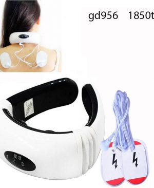 Electric pulse Back and Neck massager gd956