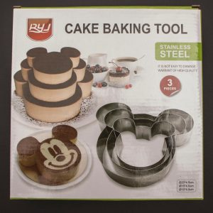 3 layer micky mouse cake pan kt1162