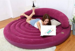 Portable Round shape air bed  gd1178